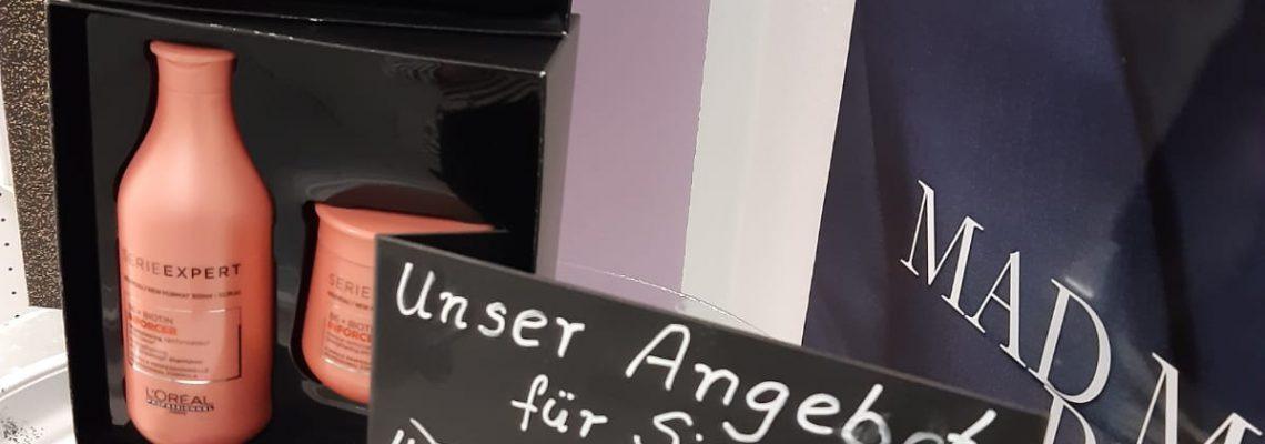 Unser aktuelles Produktangebot im Friseursalon Neu-Olvenstedt