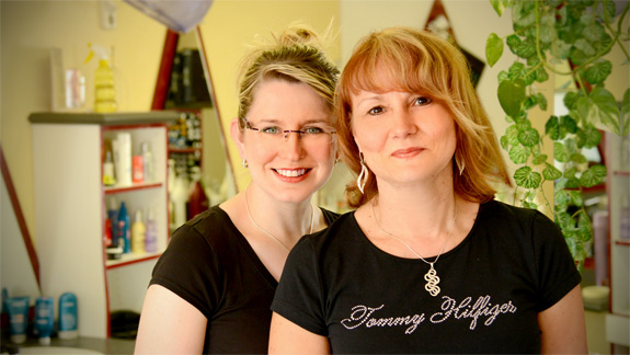Das Team vom Friseursalon Bambino der Life Haarstudios